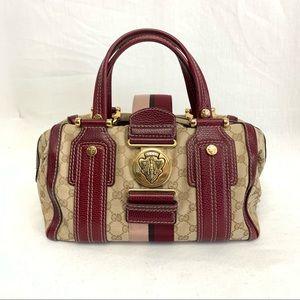 Gucci Monogram Red Leather handbag